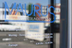 Maurus - Eingang - MAURUS Automatisierungstechnik in Bodenheim